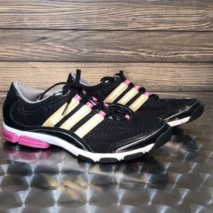 Adidas Torsion System Athletic Shoes.